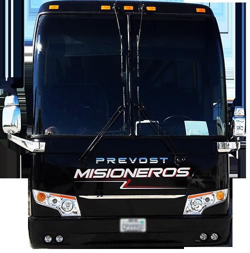 misioneros bus line in Mexico